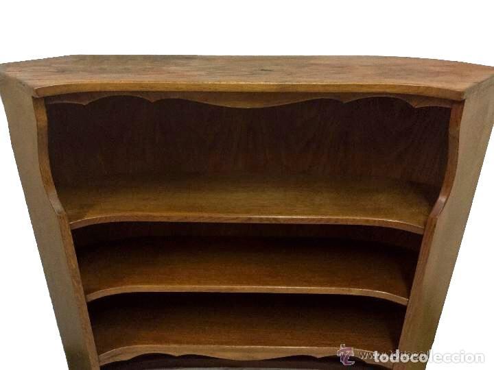 Antigüedades: antigua librería, estantería.Modernista.Capacidad, encanto - Foto 3 - 50669671