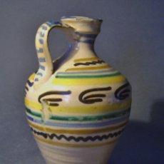 Antigüedades: ALCUZA CERÁMICA DE PUENTE DEL ARZOBISPO XIX . Lote 93682025