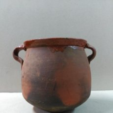 Antigüedades: ORZA, OLLA, RECIPIENTE O CACHARRO DE BARRO. Lote 93749690