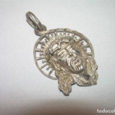 Antigüedades: ANTIGUA Y BONITA MEDALLA DE PLATA CON CONTRASTE.. Lote 93812455