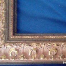 Antigüedades: MARCO DE MOLDURA EXCELENTE. PARA 55X33. NUEVO.. Lote 68618985