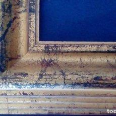 Antigüedades: MARCO CON MOLDURA MODERNA NUEVA. 55X33.. Lote 68623097
