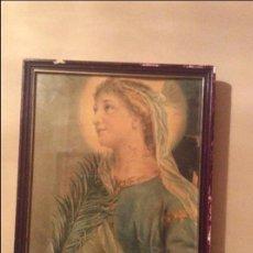 Antigüedades: CUADRO RELIGIOSO ANTIGUO. Lote 93846170