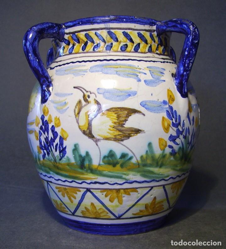 JARRÓN CERÁMICA DE TRIANA XX (Antigüedades - Porcelanas y Cerámicas - Triana)