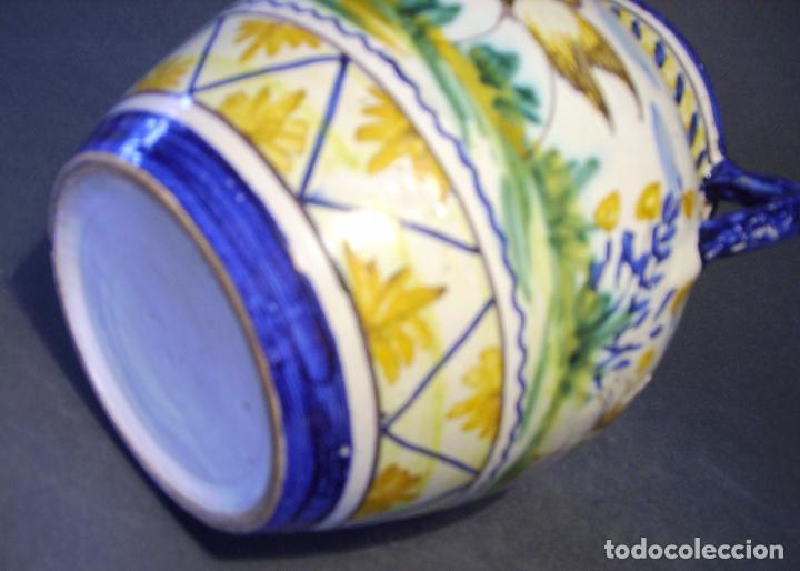 Antigüedades: JARRÓN CERÁMICA DE TRIANA XX - Foto 16 - 93847865