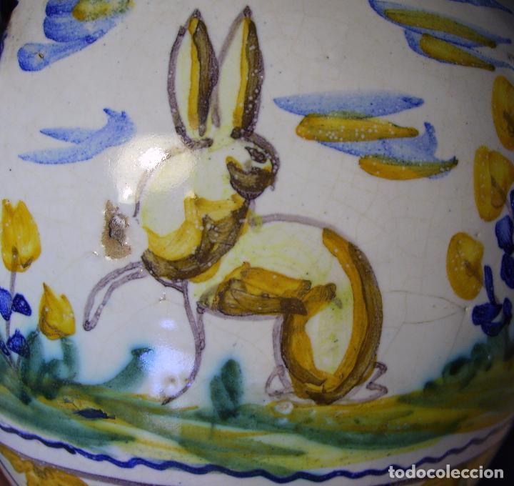 Antigüedades: JARRÓN CERÁMICA DE TRIANA XX - Foto 19 - 93847865