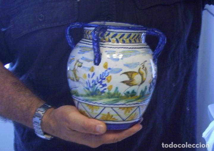 Antigüedades: JARRÓN CERÁMICA DE TRIANA XX - Foto 21 - 93847865