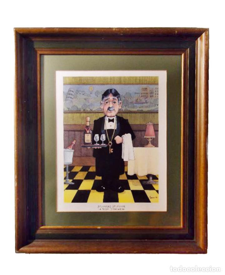 decorativo cuadro con lamina enmarcada de barma - Comprar Marcos ...