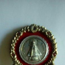 Antigüedades: RELICARIO DE METAL S.M.GUADALUPE. Lote 93871224