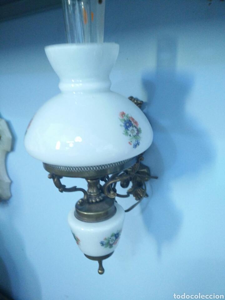 Antigüedades: Pareja de apliques ceramicos - Foto 2 - 93908598