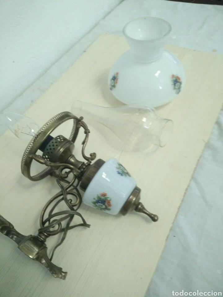 Antigüedades: Pareja de apliques ceramicos - Foto 3 - 93908598