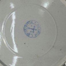Antigüedades: PLATO PIRCELANA CHINA H P 1925 SELLADO. Lote 93921717