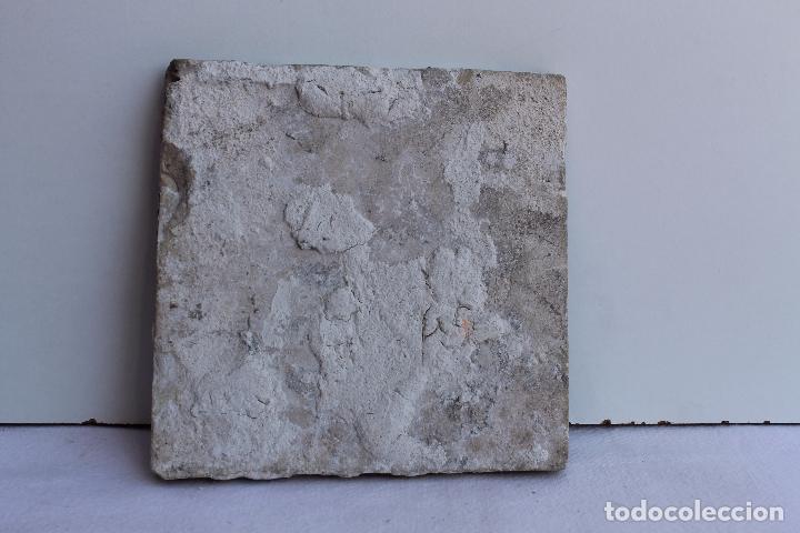 Antigüedades: AZULEJO POLICROMADO DE TRIANA SIGLO XVIII - Foto 2 - 93933880