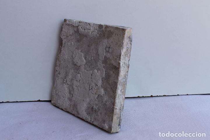 Antigüedades: AZULEJO POLICROMADO DE TRIANA SIGLO XVIII - Foto 3 - 93933880