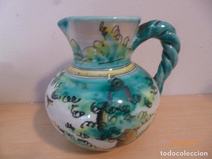 Antigüedades: Juego de café Puente del Arzobispo. 15 piezas taller La Purisima mas 1 jarra de agua independiente. - Foto 6 - 93963385