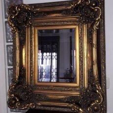 Antigüedades: 3 ESPEJOS ESTILO BARROCO MUY ELEGANTES TRIPTICO. Lote 93995855