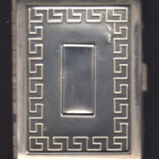 Antigüedades: PITILLERA DE PLATA - 925 MM - PRINCIPIOS SIGLO XX. Lote 94014510