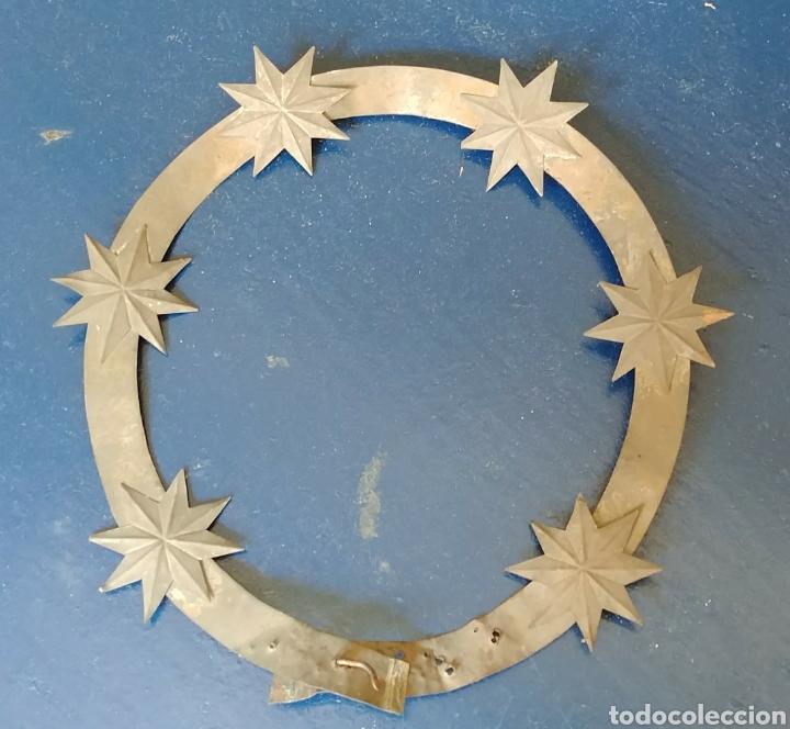 CORONA DE SANTA. S. XIX. (Antigüedades - Religiosas - Ornamentos Antiguos)