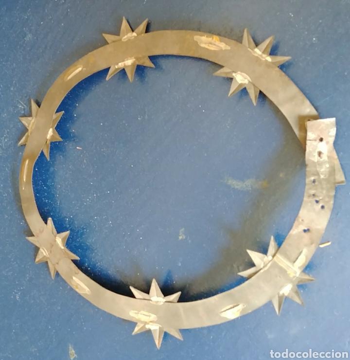 Antigüedades: Corona de SANTA. s. xix. - Foto 2 - 94037345