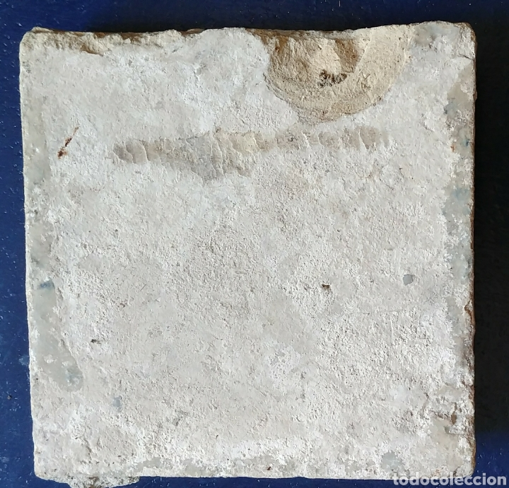 Antigüedades: Azulejo de CERAMICA antigua. - Foto 2 - 94039509
