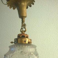 Antigüedades: PRECIOSO FAROL AÑOS 40 RESTAURADO. Lote 94086890
