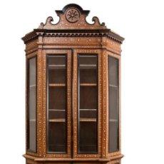 Antigüedades: VITRINA GRANADINA DEL SIGLO XIX. Lote 94082810