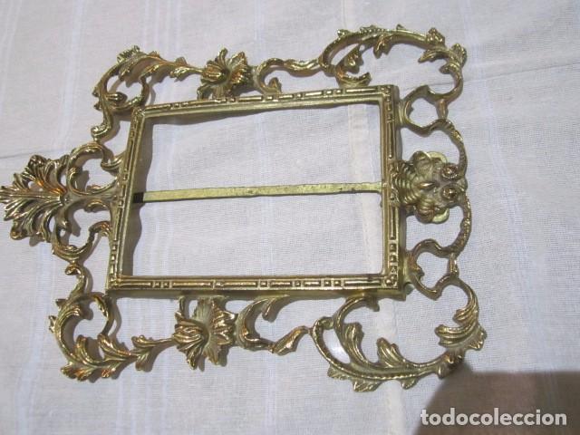 marco portafotos de bronce con filigrana. sin c - Comprar Portafotos ...