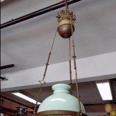 Antigüedades: QUINQUE DE TECHO SS XIX- DUPLEX Nº 2. Lote 94133720