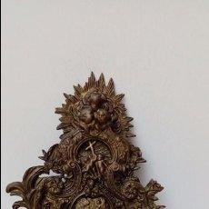 Antigüedades: BENDITERA DE BRONCE -. Lote 93890050