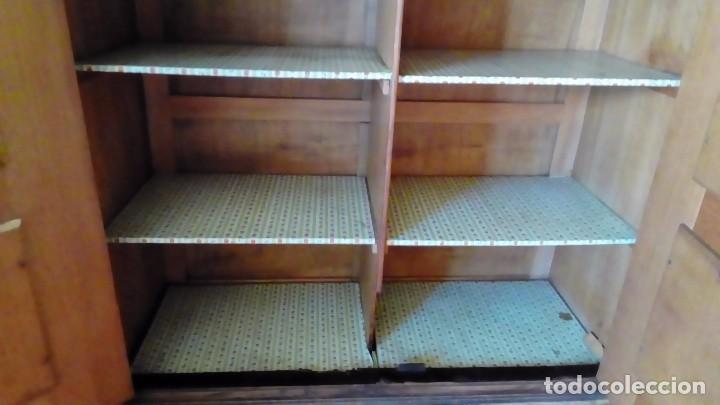 Antigüedades: BARGUEÑO DE ROBLE TALLADO A MANO- - Foto 7 - 94143605