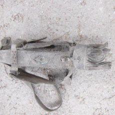 Antigüedades: CABEZADA ANTIGUA DE CUERO PARA MULA, ETC.. Lote 94147280