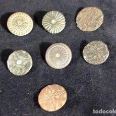 Antigüedades: ANTIGUOS BOTONES DIFERENTES METALES EN BUEN ESTADO. Lote 94150465