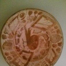 Antigüedades: ESPECTACULAR PLATO DEL SIGLO XVI MANISES. Lote 94155180