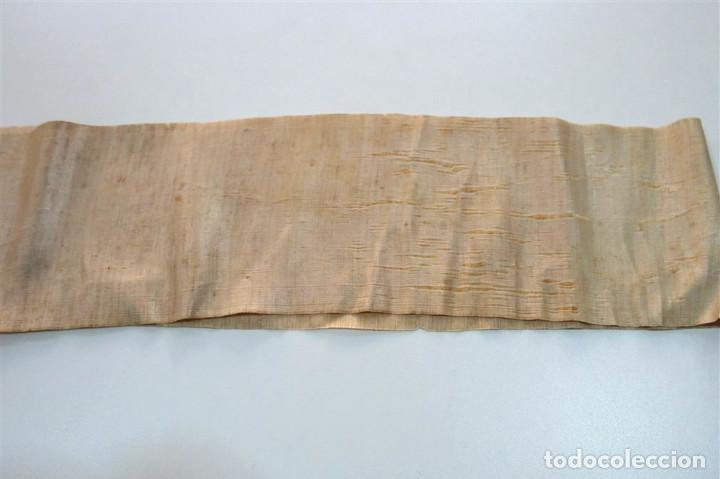 Antigüedades: Antigua cinta de seda - Foto 2 - 94171820