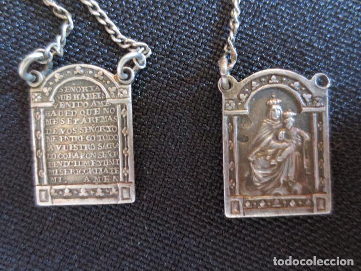 75978cefaf8 Medalla escapulario virgen del carmen en el reverso sagrado corazon de  jesus jpg 720x540 Escapulario virgen