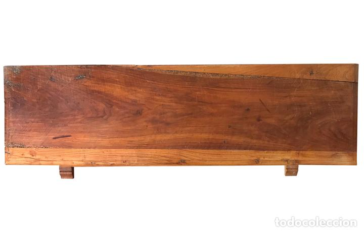 Antigüedades: Antiguo arcón macizo de castaño y pino, precioso. - Foto 2 - 100758159