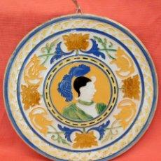 Antigüedades: JOSEP ARAGAY BLANCHART (BARCELONA, 1889-BREDA, 1973) PLATO EN CERÁMICA VIDRIADA. Lote 94229360