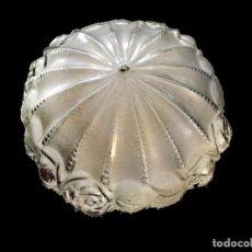 Antigüedades: MARAVILLOSA TULIPA DE CRISTAL, ANTIGUA Y ORIGINAL.IMPECABLE.. Lote 138076749