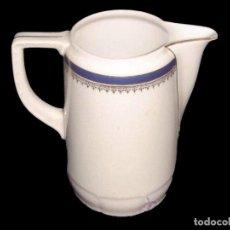 Antigüedades: JARRA DE BAVARIA. CON SELLO. EN BLANCO Y AZUL.. Lote 27565198