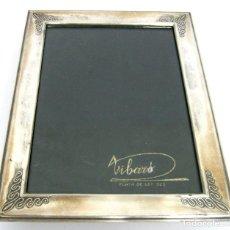 Antigüedades: BELLO MARCO EN PLATA DE LEY 925 CALIDAD MARCAS VIBARO BARCELONA - MARTA. Lote 94293882