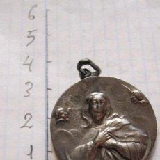 Antigüedades: ANTIGUA MEDALLA EN PLATA DE LA VIRGEN MARIA. Lote 94308162