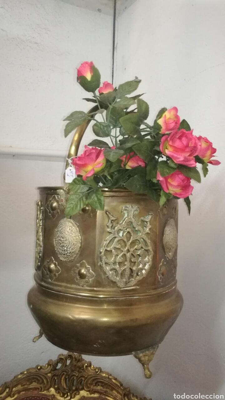 CALDERO (Antigüedades - Hogar y Decoración - Maceteros Antiguos)