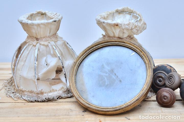 antiguo marco redondo de madera y cristal - peq - Comprar Marcos ...