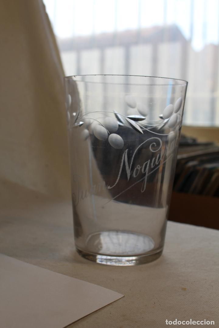 Antigüedades: vaso grande en cristal de santa lucia - cartagena - Foto 4 - 94361034