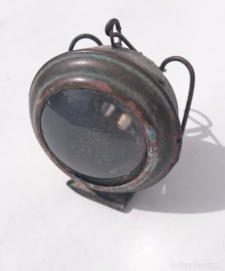 ANTIGUO FARO FAROL LUZ (Antigüedades - Iluminación - Faroles Antiguos)