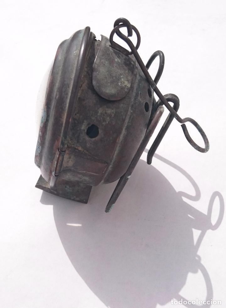 Antigüedades: ANTIGUO FARO FAROL LUZ - Foto 3 - 94393882