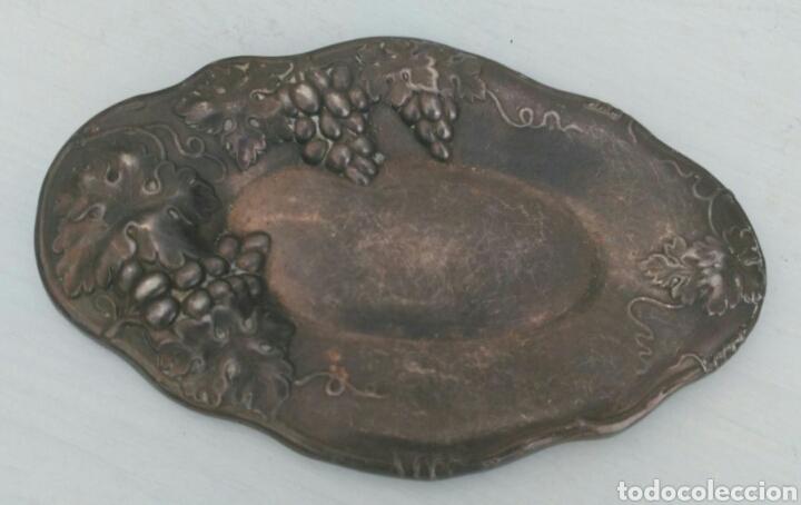 Antigüedades: ANTIGUA BANDEJITA SIGLO XIX DE LA FAMOSA CASA DERBY SILVER PLATE CO DE FINALES DE 1800 - Foto 2 - 94401900