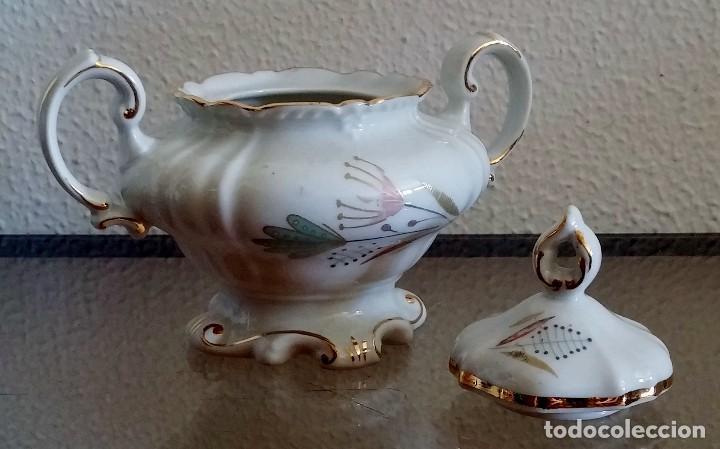 Antigüedades: Juego de Café porcelana Santa clara - 5 servicios - Ref. 776 - Foto 9 - 94407410