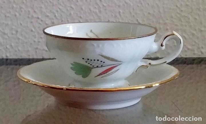 Antigüedades: Juego de Café porcelana Santa clara - 5 servicios - Ref. 776 - Foto 11 - 94407410