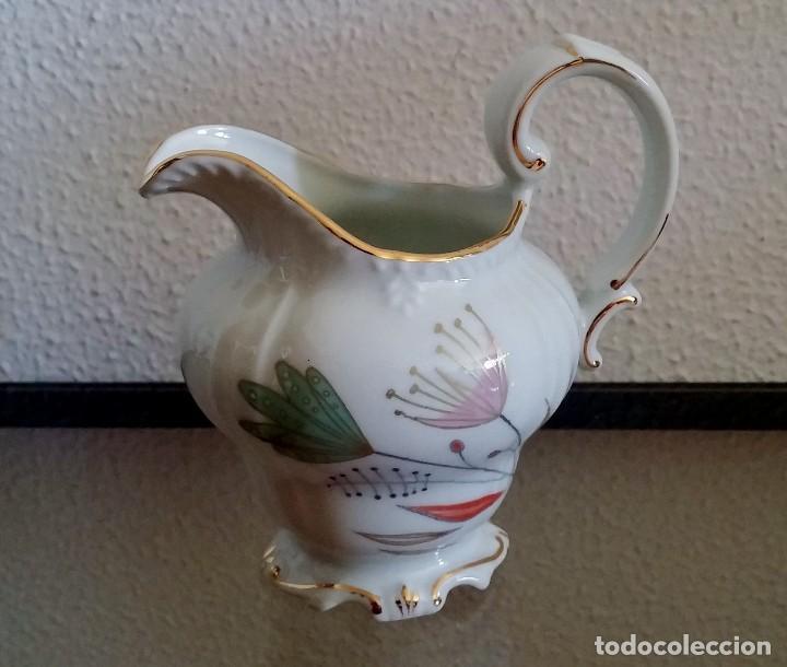 Antigüedades: Juego de Café porcelana Santa clara - 5 servicios - Ref. 776 - Foto 13 - 94407410